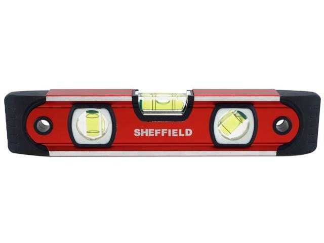 "Sheffield 58640 9/"" Magnetic V-Groove Torpedo Level"